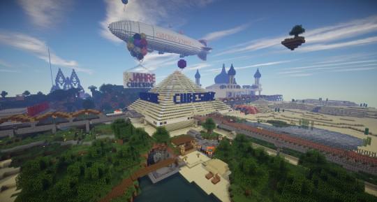 Cubeside Das Sind Wir Cubeside Deutscher Minecraft Server - Minecraft spieler server finden